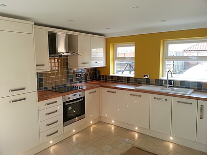 Fitting kitchens in york carlton joinery Kitchen design and fitting